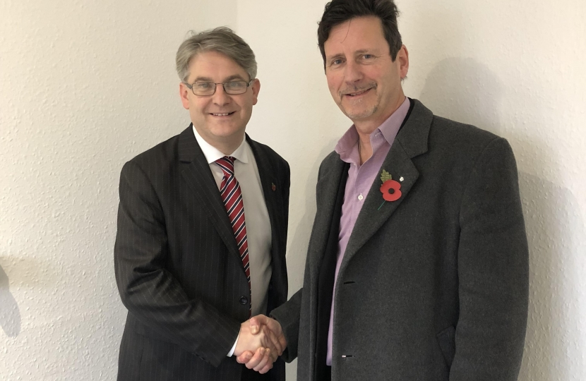 Philip Davies MP and Paul Sullivan