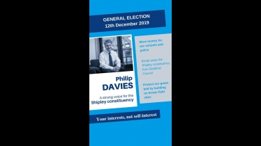 Embedded thumbnail for Reasons to vote for Philip Davies today